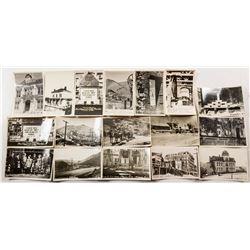 Virginia City, Nevada Real Photo Postcards