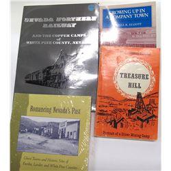 White Pine, NV Books (4)