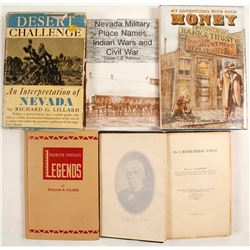 Hard to Find Nevada History Books (5)