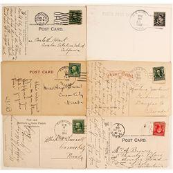Nevada Postal History Lot