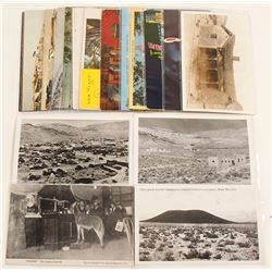Seventeen Southern Nevada Postcards