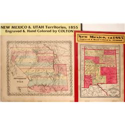 Maps of New Mexico & Utah Territories