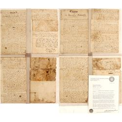 Original copy of the Lancaster Charter, Colony of Pennsylvania