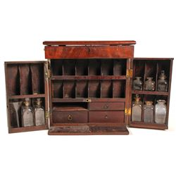 Antique Medical Cabinet from Philadelphia Hospital