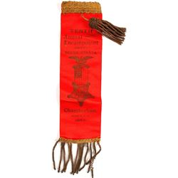 South Dakota Tenth Annual Encampment Ribbon