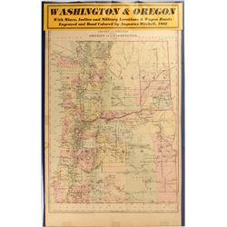 Map of Washington & Oregon
