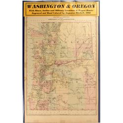 Map of Washington & Oregon