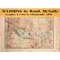 Map of Wyoming, 1892