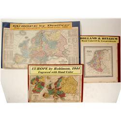 3 European Maps