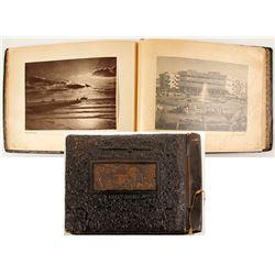 Leather Bound Israeli Photo Book