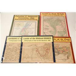 Maps of Jerusalem Area (5)