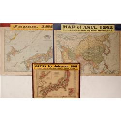 Maps of Japan and Asia