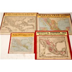 Maps of Mexico and central America
