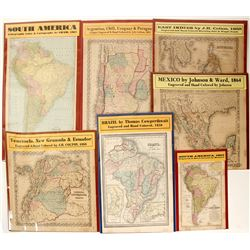 Maps of Mexico & South America (7)