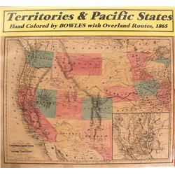 Map of Territories & Pacific States