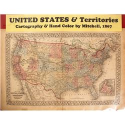 Map  of US & Territories