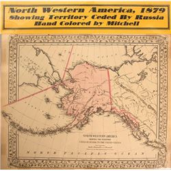 Map of North Western America