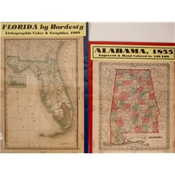 Maps of Southern States