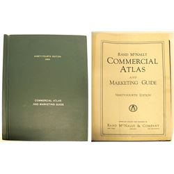Huge Rand McNally Commercial Atlas and Marketing Guide