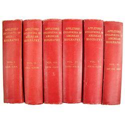 Appleton's Cyclopedia of American Biography Vols. 1-6