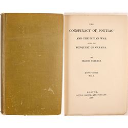 Conspiracy of Pontiac Vol.1 by Parkman
