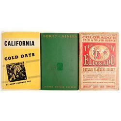 Gold Rush Hardcovers (3)
