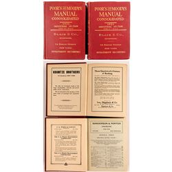 Poor's and Moody's Manual Consolidated 1921, 2 Volumes