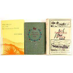 Overland Stage Books (3)