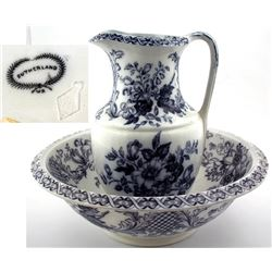 Sutherland Pitcher and Bowl