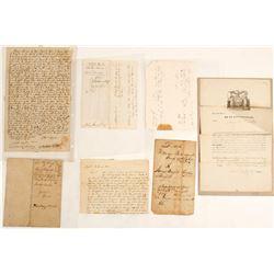 Seven historic American documents!