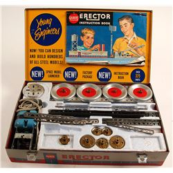 Gilbert Erector Rocket Launcher Set