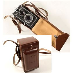 Camera by Carl Zeiss with Leather Case