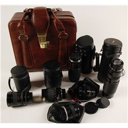Collection of Six Sigma Camera Lenses