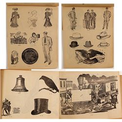 c.1890s Advertising Art Booklet/Catalog