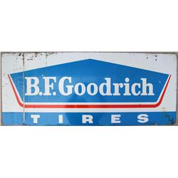 B F Goodrich Tires Metal Sign