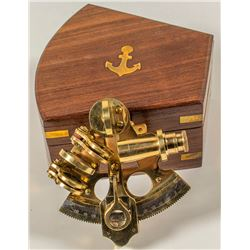 Captain's Brass Sextant