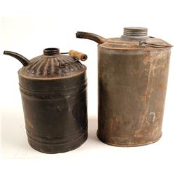 Antique Gas/Kerosene Cans