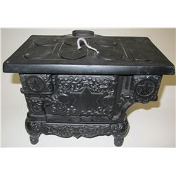 Vintage Salesman Sample Mini Cast Iron Stove