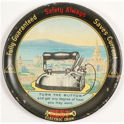 Electric Iron Advertising Tray
