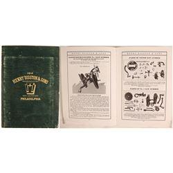 Henry Disston & Sons 1914 saw catalog