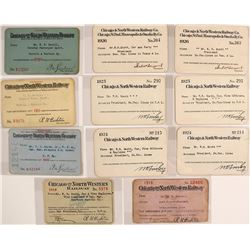 Chicago & North Western Railway Pass Collection