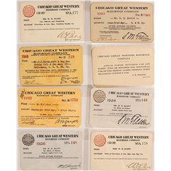 Chicago Great Western Railroad Co. Pass Collection