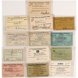 Chicago Railroad Pass Collection