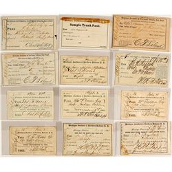 Michigan Southern & Northern Indiana Railroad Pass Collection