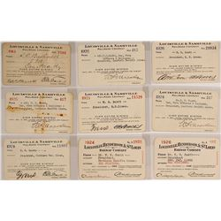 Louisville Railroad Pass Collection