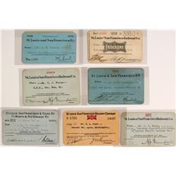 St. Louis & San Francisco Railway Pass Collection