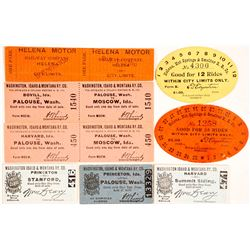 Montana Railroad Tickets