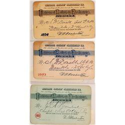 National Railway Exchange Pass Trio