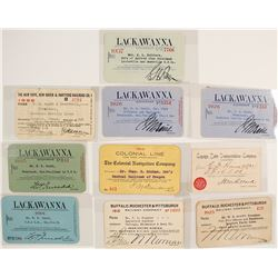 New York Railroad Pass Collection