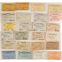 Cleveland Railroad Lines Pass Collection
